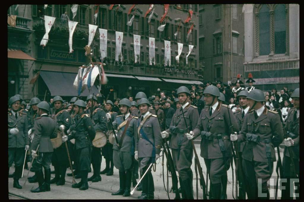 Italy 12 Италия 1938 г. на цветных фото
