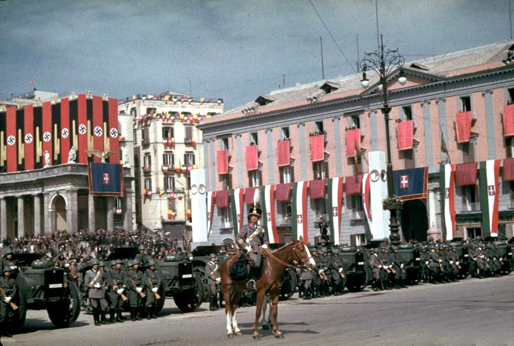 Italy 14 Италия 1938 г. на цветных фото