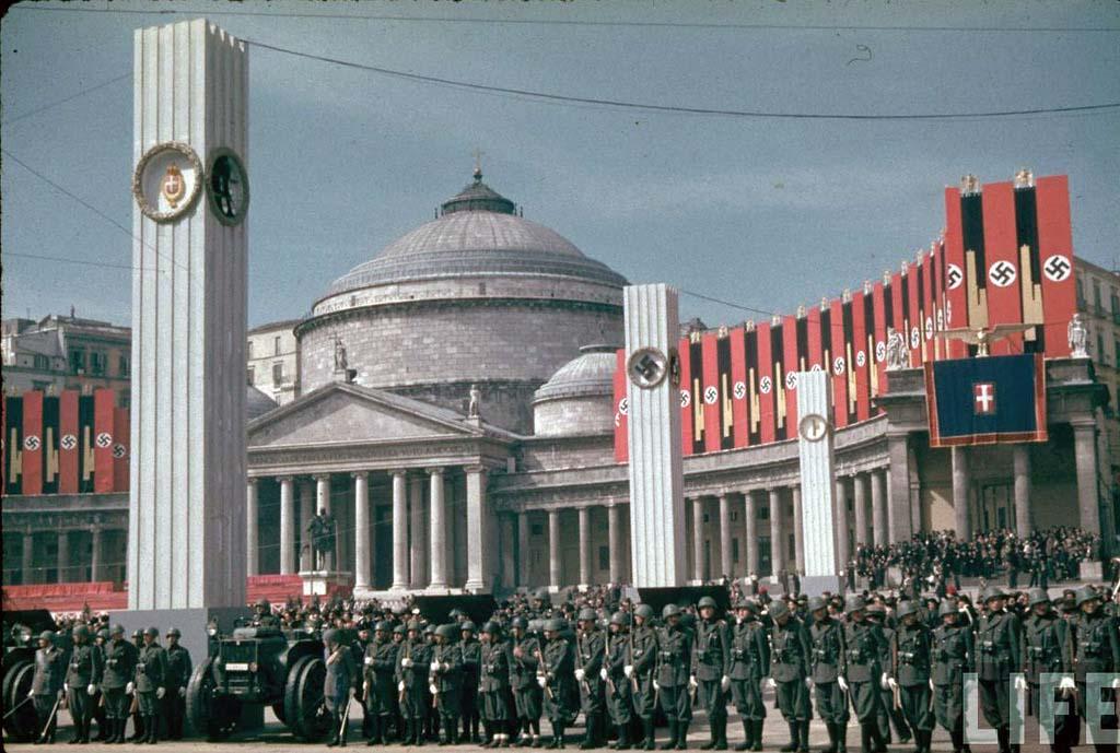 Italy 16 Италия 1938 г. на цветных фото