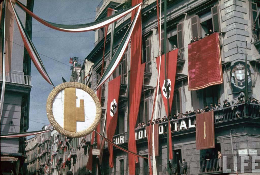 Italy 17 Италия 1938 г. на цветных фото
