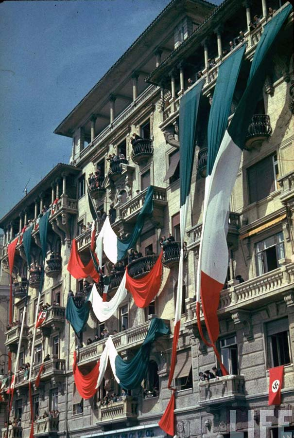 Italy 18 Италия 1938 г. на цветных фото