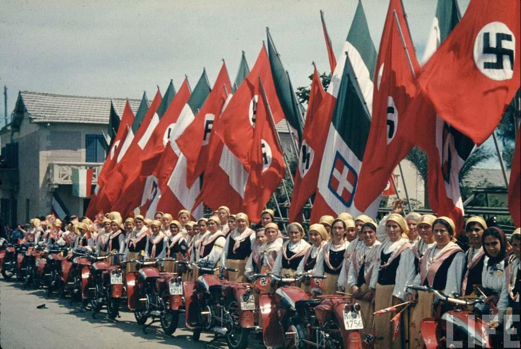 Italy 24 Италия 1938 г. на цветных фото