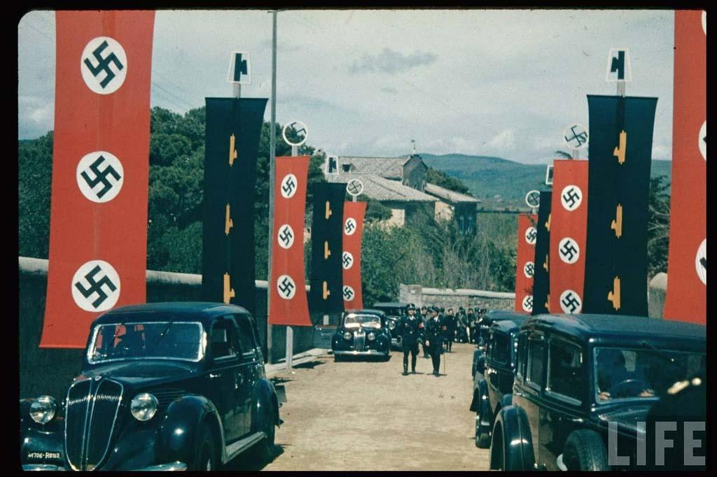 Italy 26 Италия 1938 г. на цветных фото