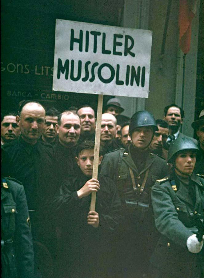 Italy 4 Италия 1938 г. на цветных фото