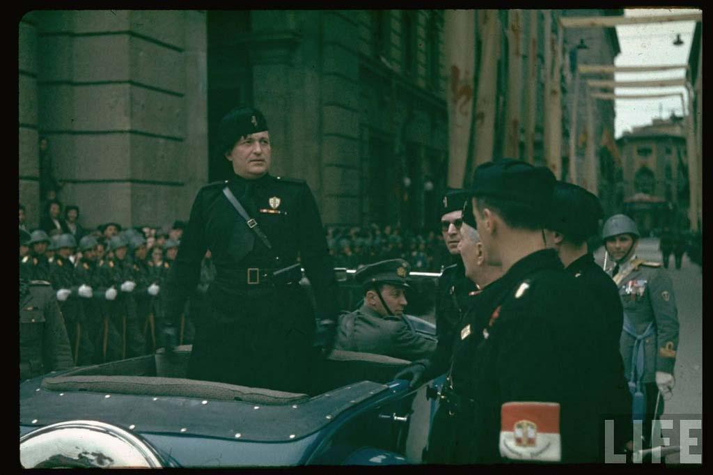 Italy 6 Италия 1938 г. на цветных фото