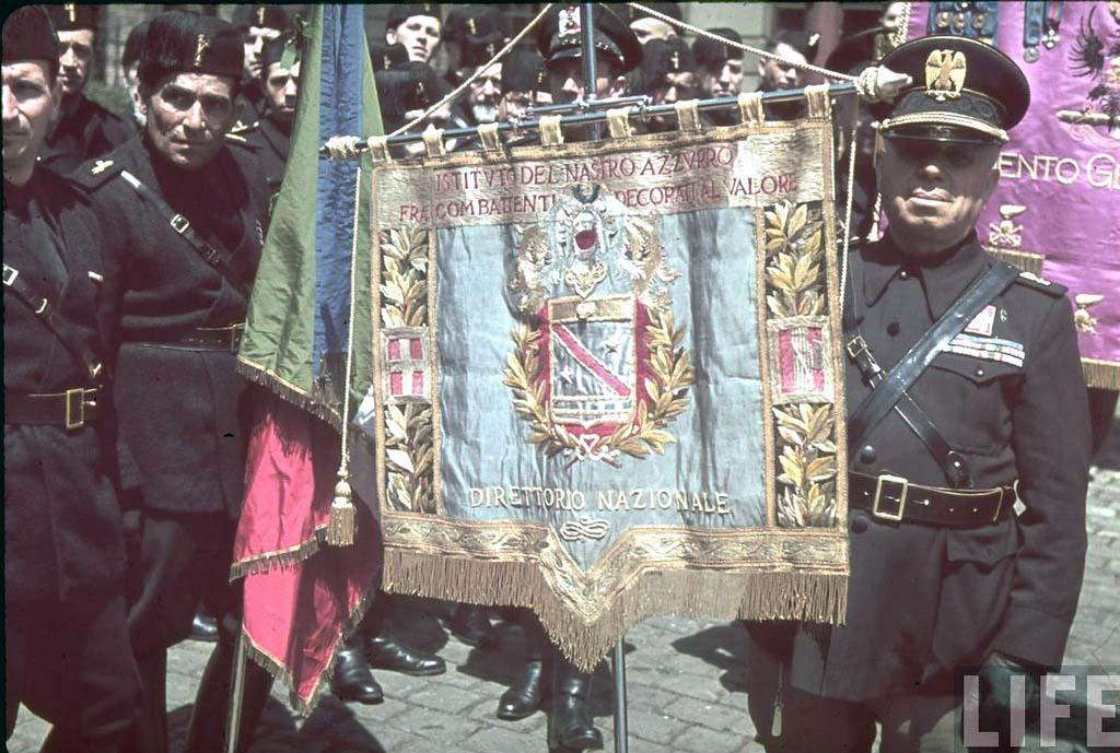 Italy 7 Италия 1938 г. на цветных фото