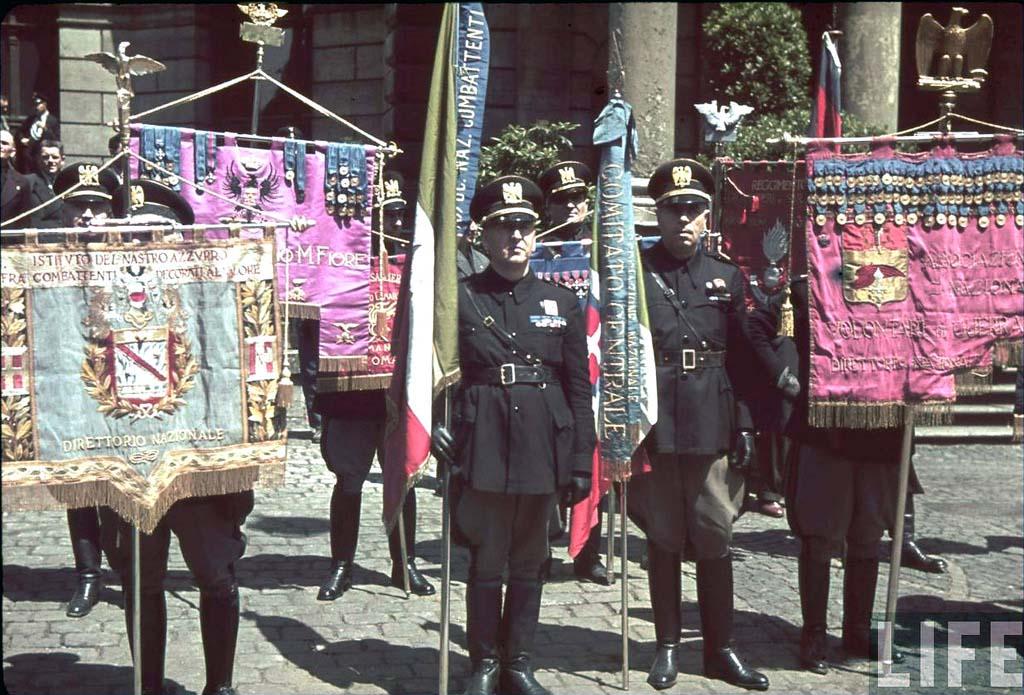 Italy 8 Италия 1938 г. на цветных фото