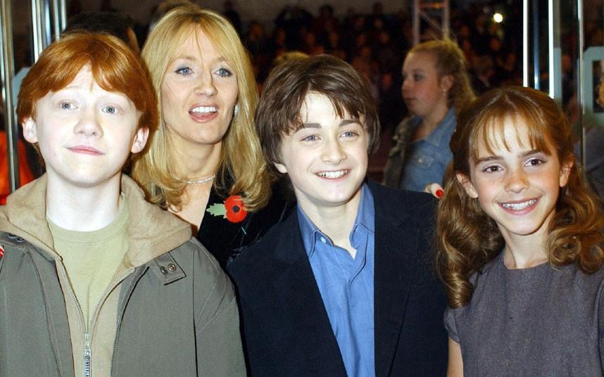 JK Rowling 3 Джоан Роулинг   из грязи в князи