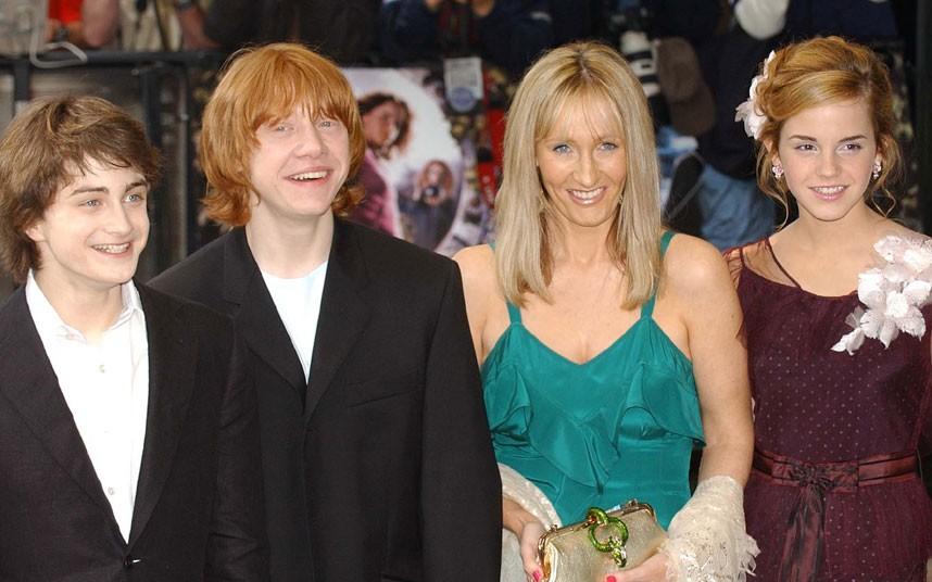 JK Rowling 4 Джоан Роулинг   из грязи в князи