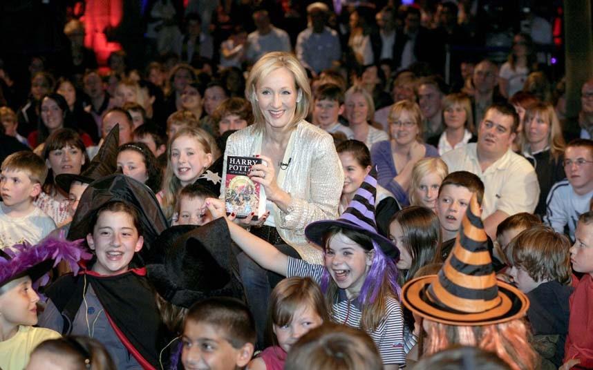 JK Rowling 7 Джоан Роулинг   из грязи в князи