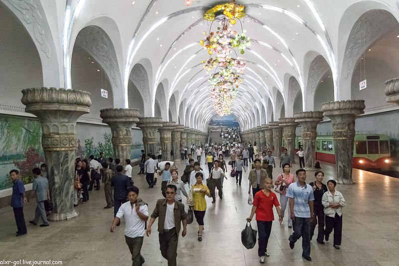 Korea 27 Северная Корея   Пхеньянский метрополитен