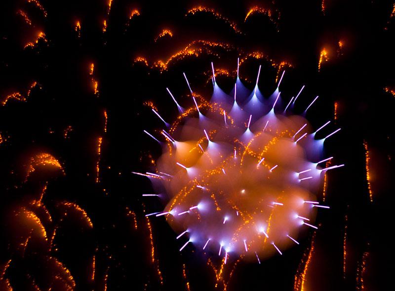 Long Exposure Fireworks 1 Фейерверк, каким вы его еще не видели