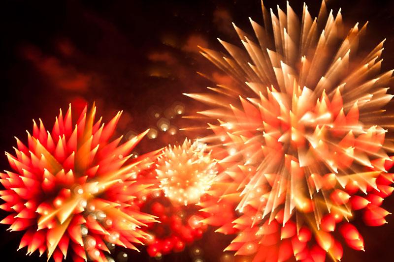 Long Exposure Fireworks 11 Фейерверк, каким вы его еще не видели