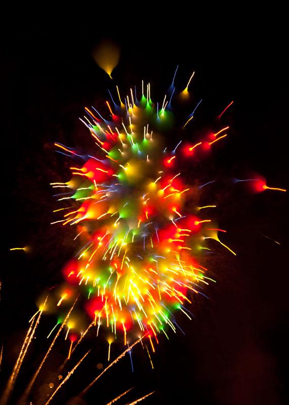 Long Exposure Fireworks 12 Фейерверк, каким вы его еще не видели