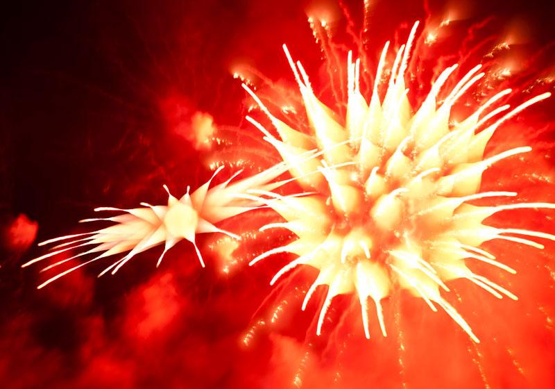 Long Exposure Fireworks 3 Фейерверк, каким вы его еще не видели