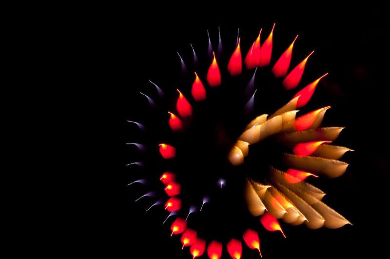 Long Exposure Fireworks 4 Фейерверк, каким вы его еще не видели