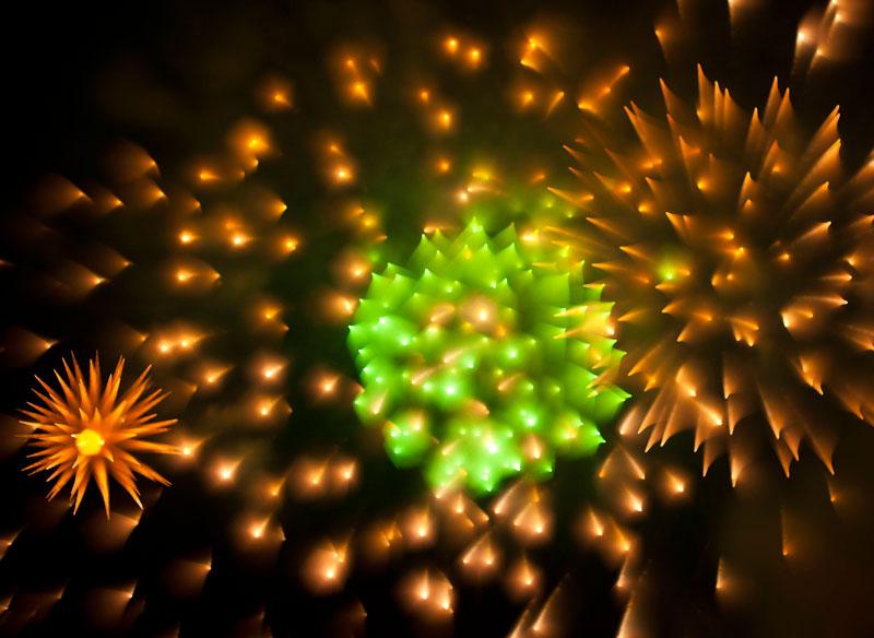 Long Exposure Fireworks 5 Фейерверк, каким вы его еще не видели
