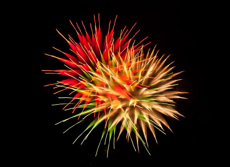 Long Exposure Fireworks 8 Фейерверк, каким вы его еще не видели