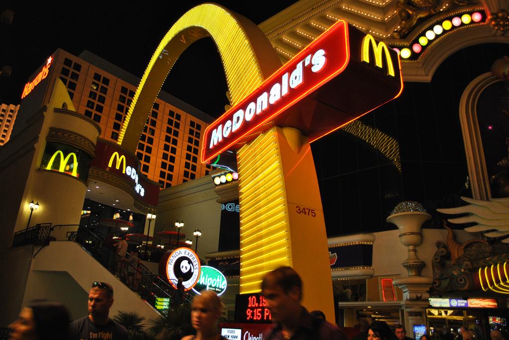استغرق ماكدونالدز ماكدونالدز في العالم 10
