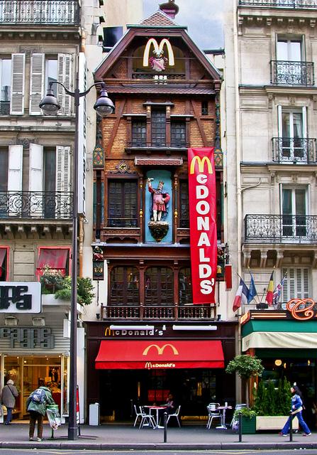 استغرق ماكدونالدز ماكدونالدز في العالم 13