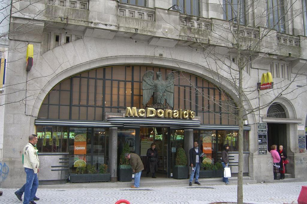 استغرق ماكدونالدز ماكدونالدز في العالم 14