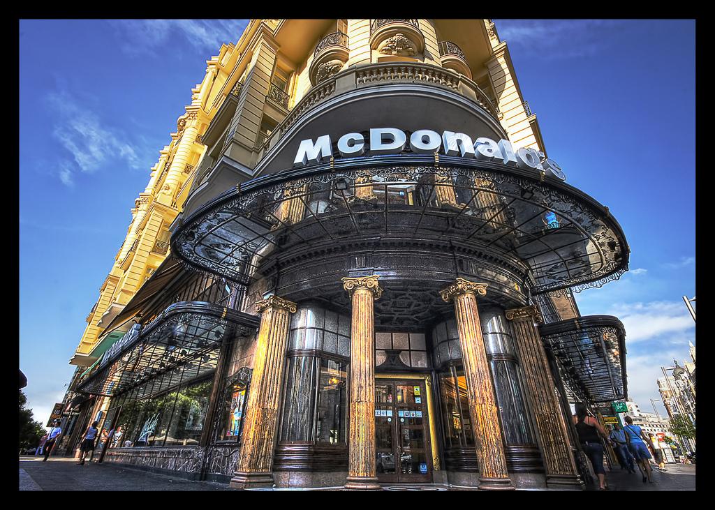 استغرق ماكدونالدز ماكدونالدز في العالم 35