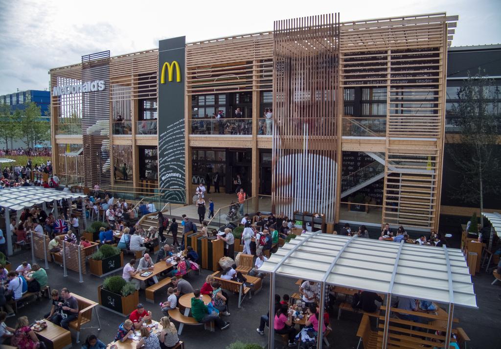 القبض ماكدونالدز ماكدونالدز سبعة العالم