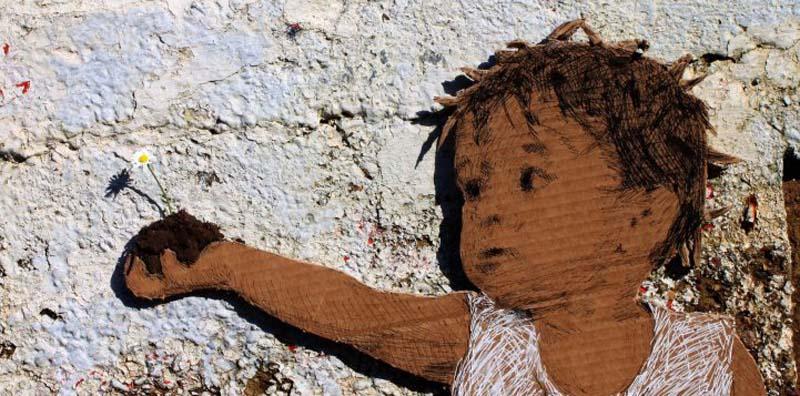 Michael Aaron Williams 11 Картонные бездомные дети на улицах мегаполисов