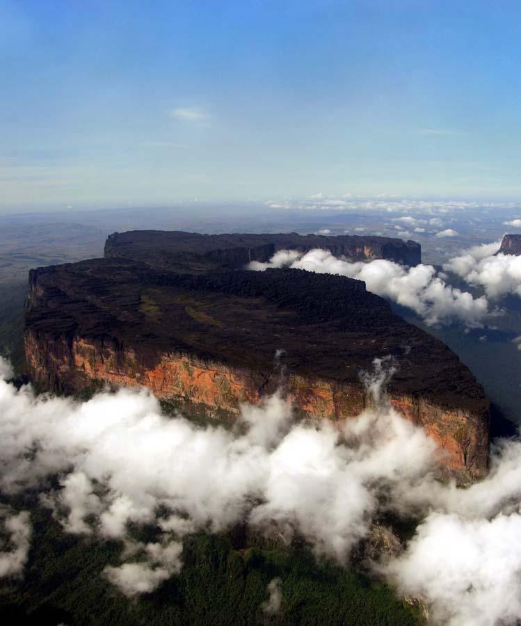 Mount Roraima 10 Загадочная и прекрасная гора Рорайма