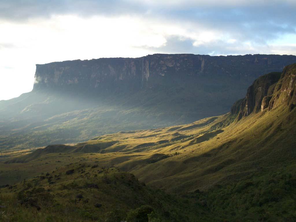 Mount Roraima 12 Загадочная и прекрасная гора Рорайма