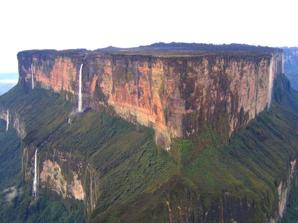 Mount Roraima 13 Загадочная и прекрасная гора Рорайма