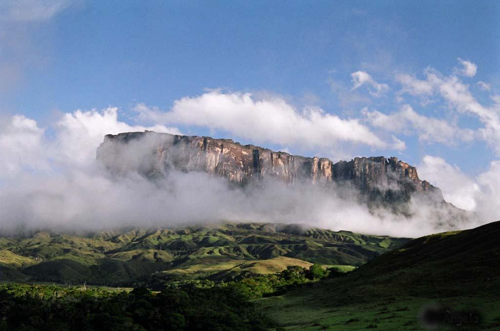 Mount Roraima 14 Загадочная и прекрасная гора Рорайма
