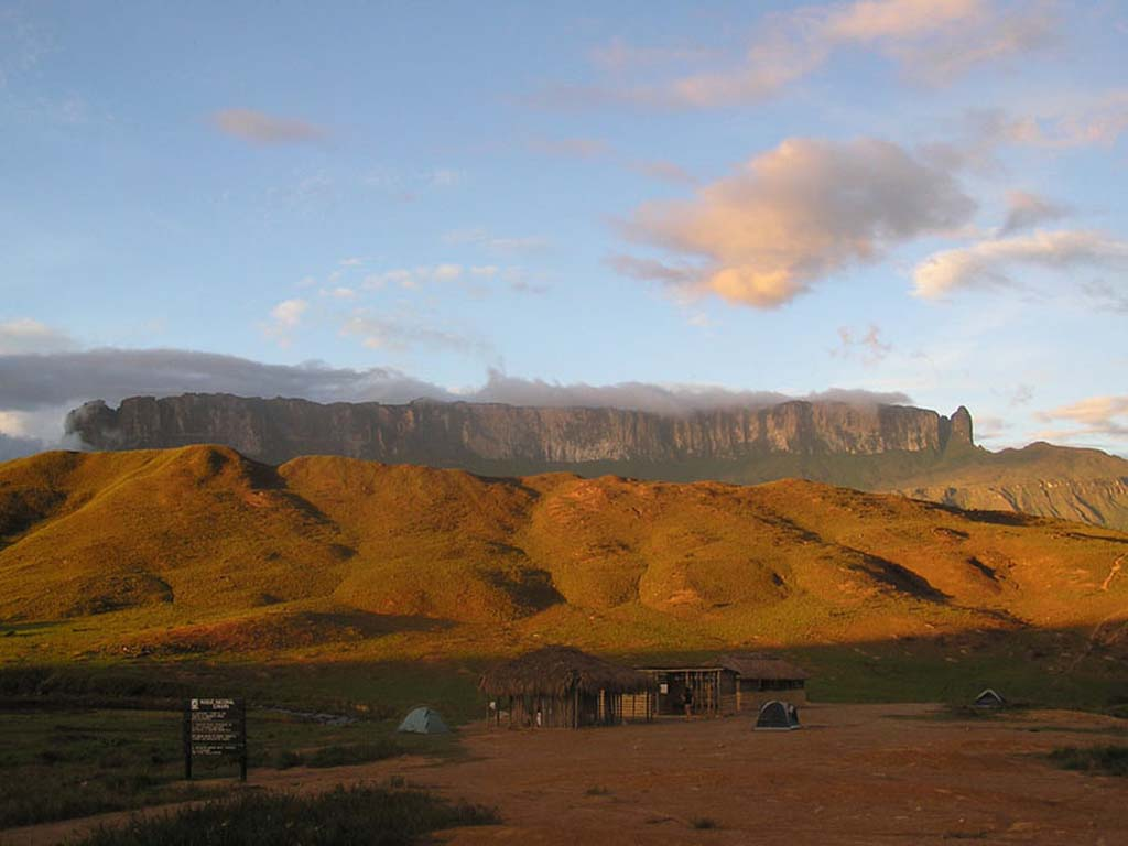 Mount Roraima 17 Загадочная и прекрасная гора Рорайма