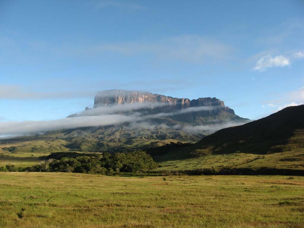 Mount Roraima 4 Загадочная и прекрасная гора Рорайма