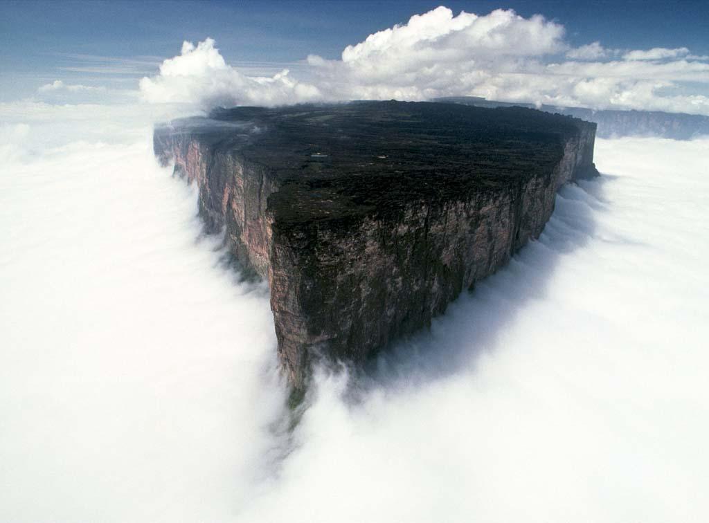 Mount Roraima 6 Загадочная и прекрасная гора Рорайма