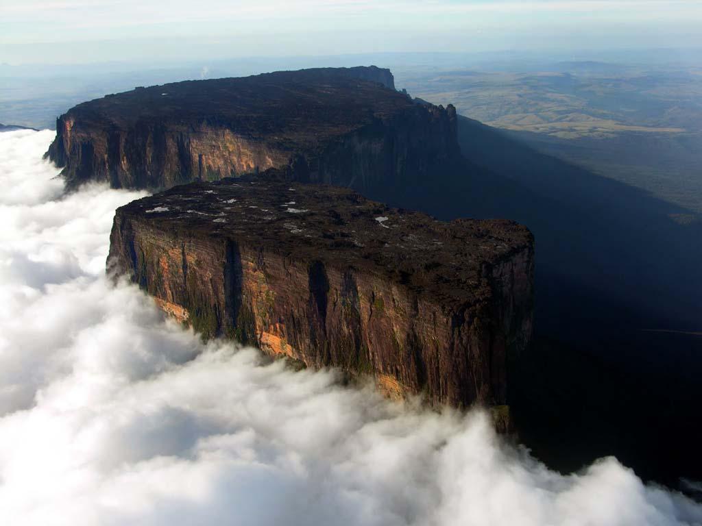 Mount Roraima 8 Загадочная и прекрасная гора Рорайма