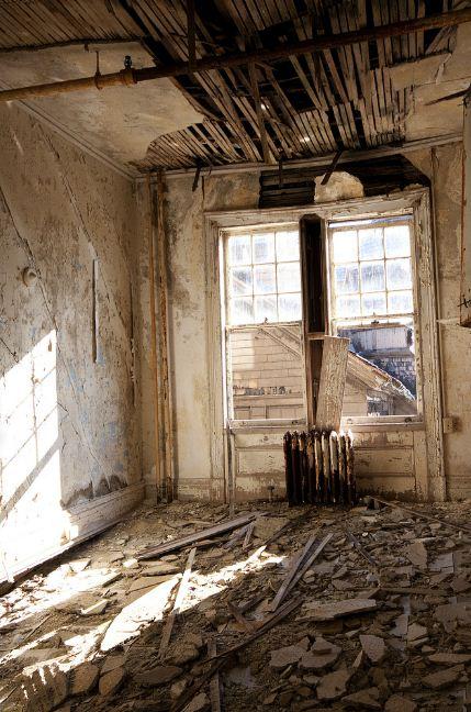 New York girls school 3 Заброшенная школа для девочек в Нью Йорке