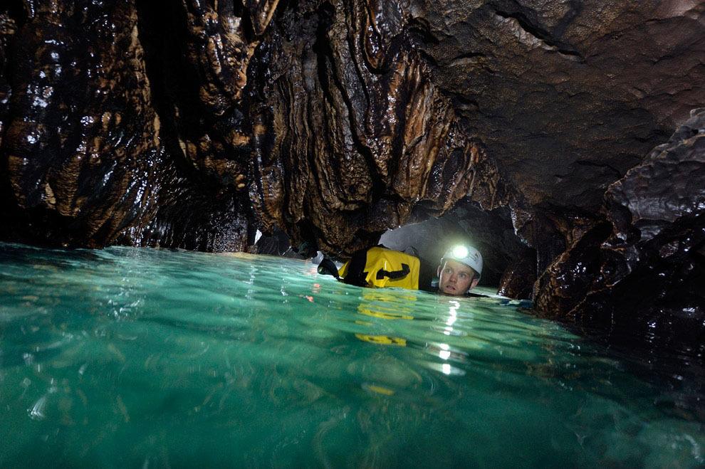 Robbie Shone 5 Спуск в одну из самых глубоких пещер мира
