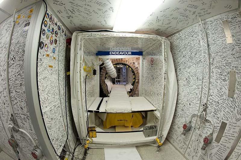 جولة في قمرة قيادة مكوك الفضاء