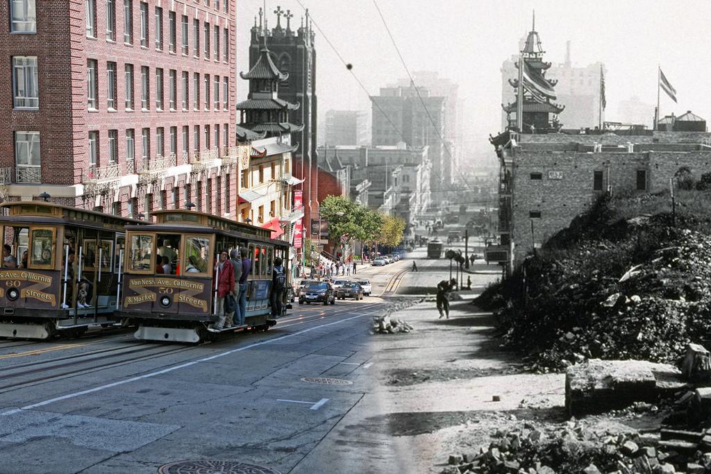 Землетрясение в Сан-Франциско 1906 - фото и последствия ... | 683x1024