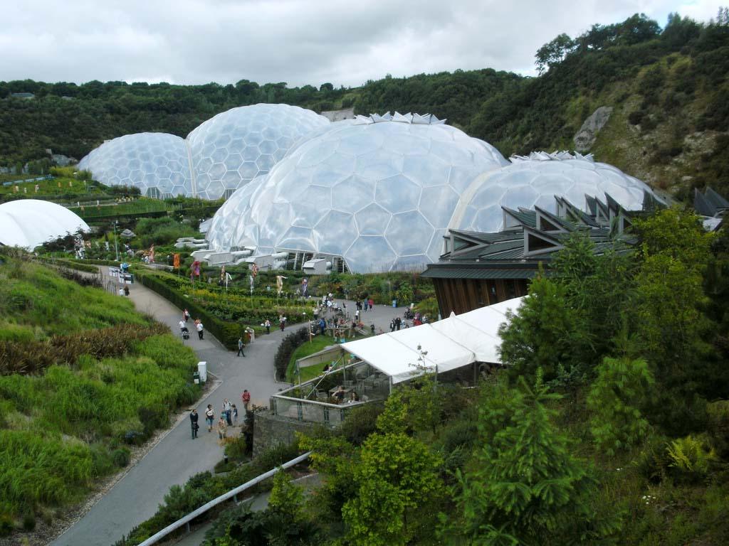 The Largest Greenhouse 4 Самая большая теплица в мире