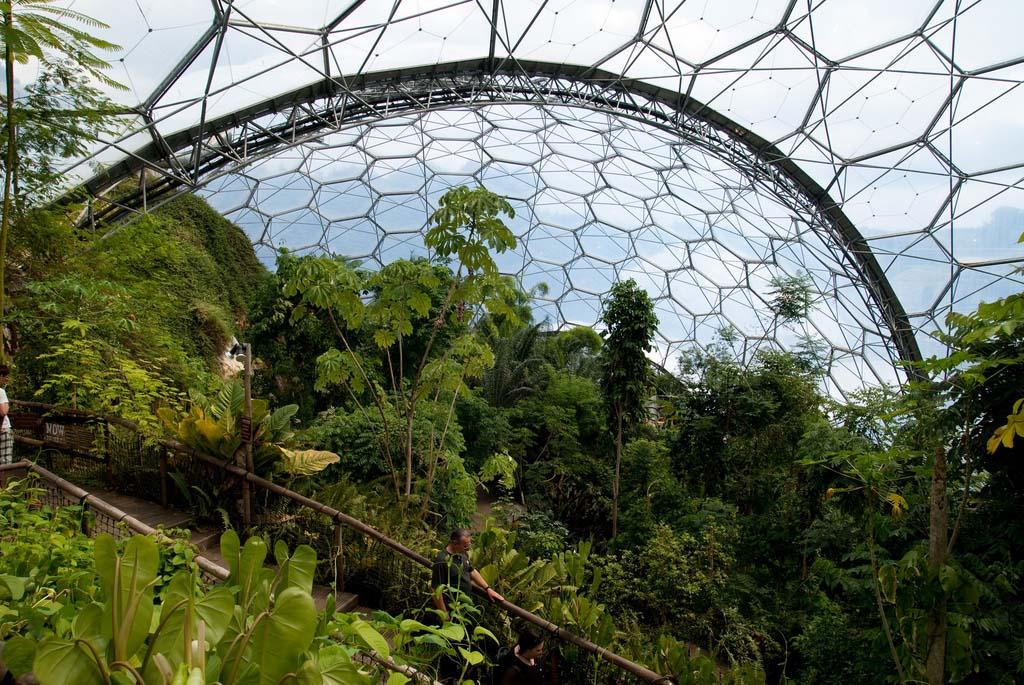 The Largest Greenhouse 8 Самая большая теплица в мире