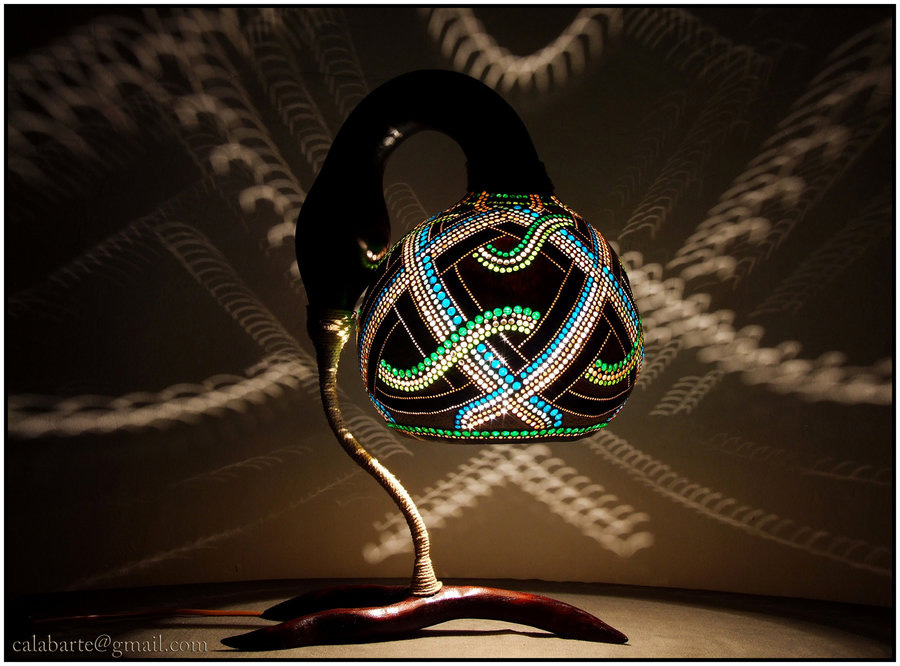 beauty 10 Удивительные светильники из тыкв   произведения искусства