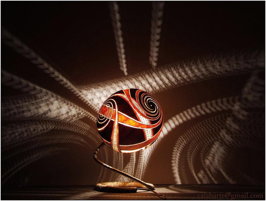 beauty 12 Удивительные светильники из тыкв   произведения искусства