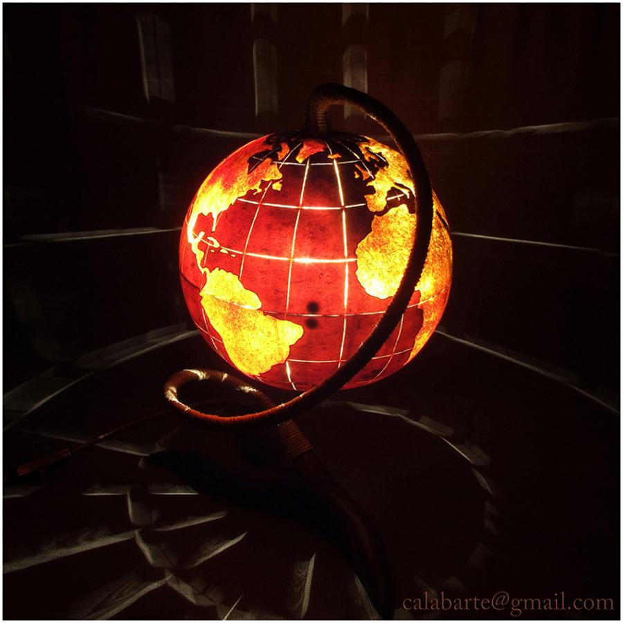 beauty 16 Удивительные светильники из тыкв   произведения искусства