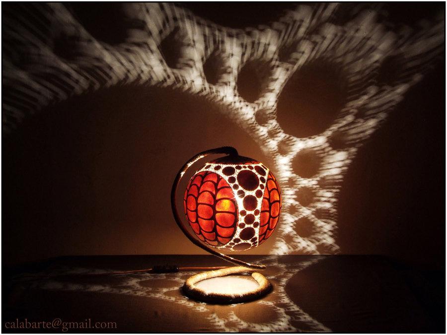 beauty 18 Удивительные светильники из тыкв   произведения искусства