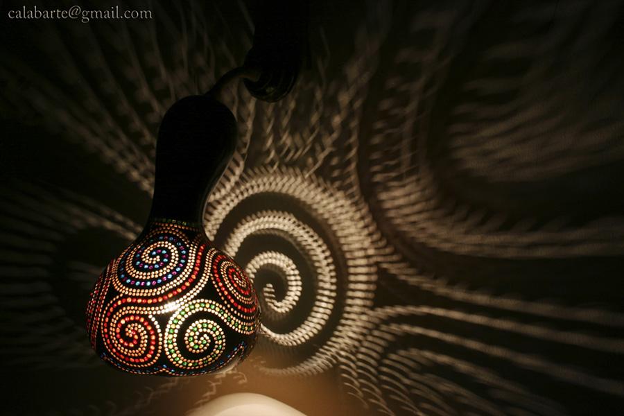 beauty 2 Удивительные светильники из тыкв   произведения искусства