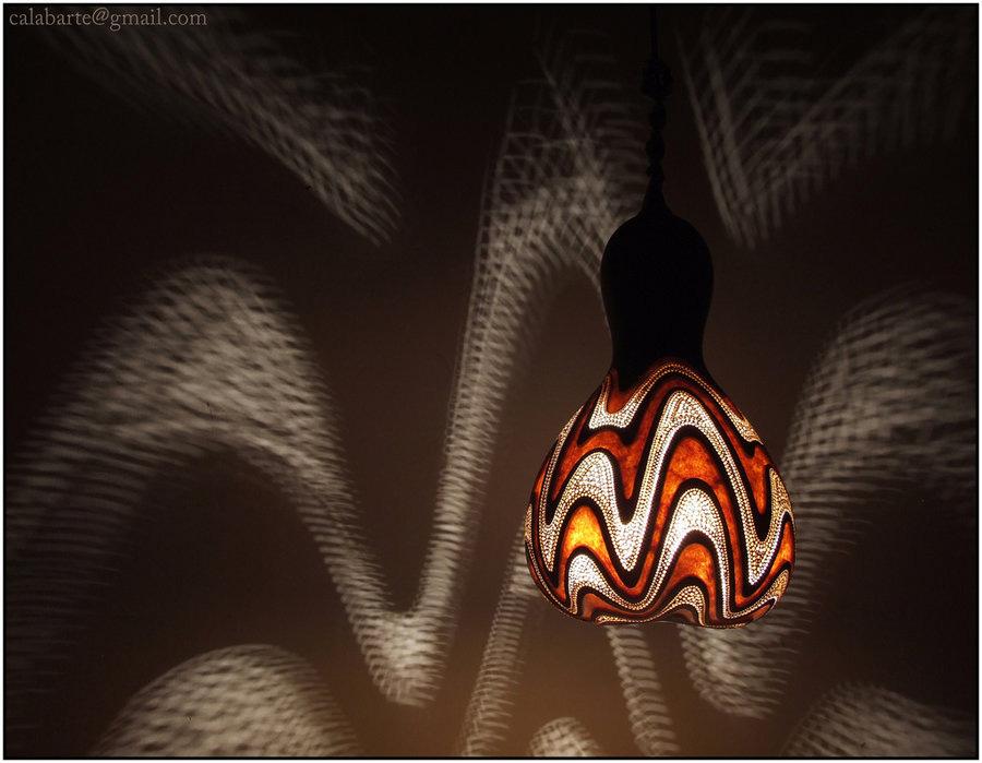beauty 22 Удивительные светильники из тыкв   произведения искусства