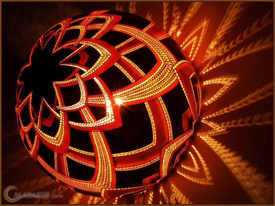 beauty 5 Удивительные светильники из тыкв   произведения искусства