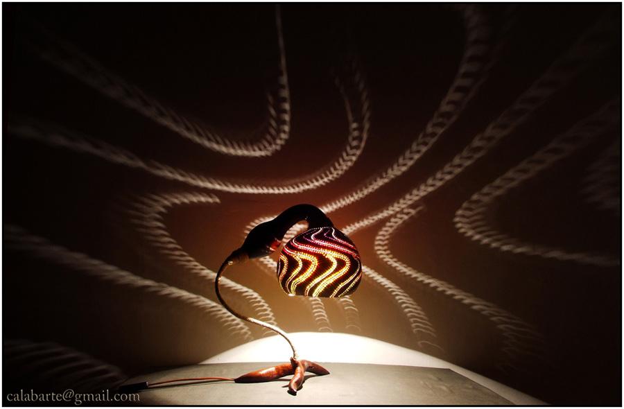 beauty 7 Удивительные светильники из тыкв   произведения искусства